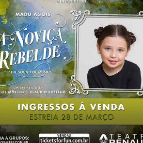 "Musical ""A Noviça Rebelde"" – Madu Agois"